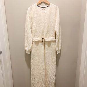 Anthropologie Jacqueline Belted Dress size M